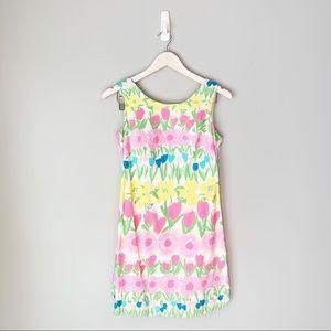 Lull Pulitzer Pastel Neon Printed Shirt Dress